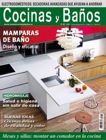 Portada revista cocinas y baños