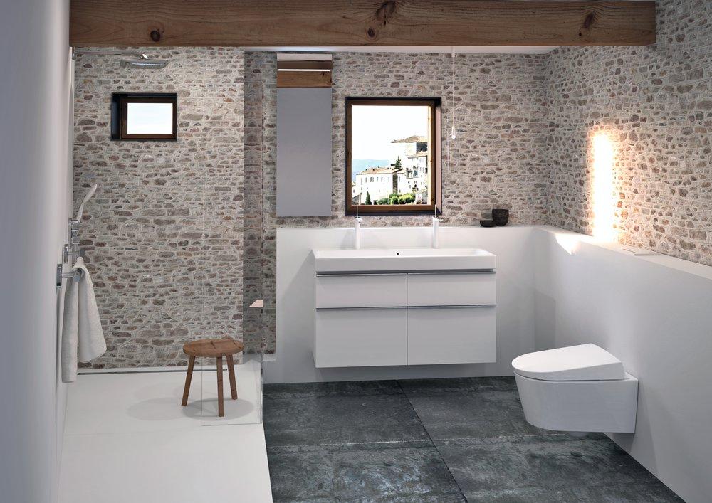 Los baños pequeños ganan espacio y diseño con las ...