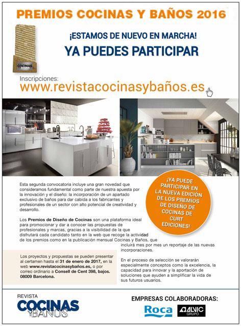 comunicado premios Revista Cocinas y Baños